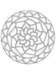 34 mandala u0027s images coloring drawings