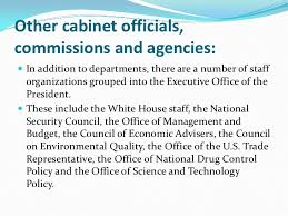 The President S Cabinet Includes Executive Branch Cfr U003d