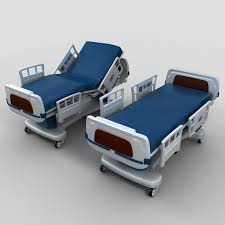 Hospital Couch Bed Bed 3d Model