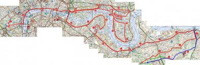 Nyc Marathon Route Map by London Marathon Route Map Map Holiday Travel Holidaymapq Com
