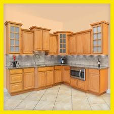 Wooden Cabinets For Kitchen Wood Kitchen Cabinets Ebay