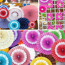 Home Decoration Birthday Party Online Get Cheap Hanging Fan Decoration Aliexpress Com Alibaba