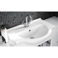 premier mayford vanity unit vty550 550mm floor mounted white