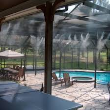 Best Patio Misting System High Pressure Mist Cooling System For Outdoor Cooling
