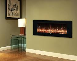 floatg wall electric fireplace contemporary lowes heater costco