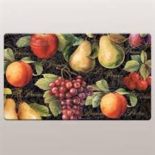 Vegetable Kitchen Rugs Kitchen Floor Mats Touch Of Class