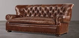 Butterscotch Leather Sofa Seating Collections Rh