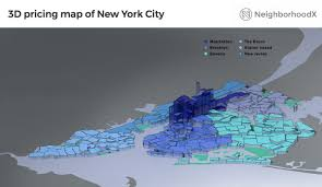 New York Neighborhood Map by New York Luxury Market Manhattan Home Prices