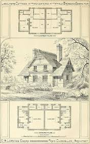 Storybook Cottage House Plans by 187 Best Historic Plans Images On Pinterest Vintage Houses