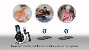 ds6771 3 2 handset connect to cell answering system with cordless