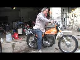 yamaha dt250 coldstart youtube
