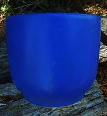 blue pots outdoor garden cobalt blue flower pots love them