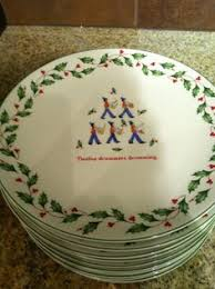 lenox winter greetings nuthatch accent luncheon plate avian