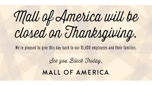 of america stays closed for black friday 2016 on thanksgiving day