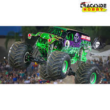 purple grave digger monster truck axial smt10 grave digger monster jam truck 4wd rtr trackside