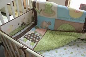 Tortoise Bedding 7pcs 3d Cotton Embroidery Tortoise Frog Tree Baby Bedding Set U2013 Bubsie