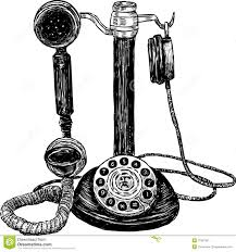 telephone clipart ancient pencil and in color telephone clipart