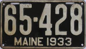 Maine Vanity License Plates Maine License Plates For Sale Tag Dr