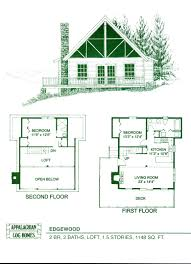 small house plans with loft cabin plan peachy design ideas 1