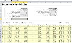 Loan Amortization Schedule Excel Template Loan Amortization Schedule Excel Sle Mortgage Loan Amortization