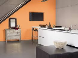cuisine orange et gris stunning decoration cuisine orange et vert gallery design trends