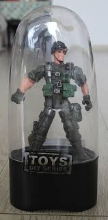 free shipping 4 in mini swat figure thanksgiving