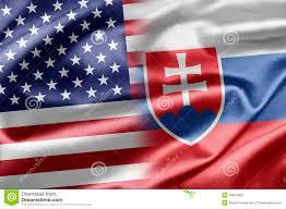 Slovak Flag Slovakia Flag On Map Stock Photo Image Of Country Bratislava