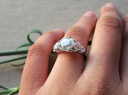 Reset Wedding Ring by It U0027s Here My 5 Stone 8 Prong Trellis Reset By Dbl Bling Ring