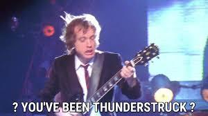 thunderstruck lyrics ac dc song in images