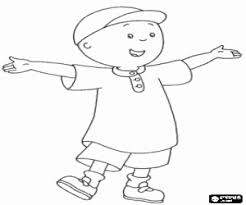 caillou coloring pages printable games 2