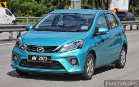motoring malaysia tech talk the new 2018 perodua myvi first review