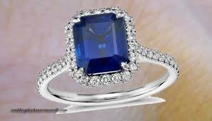 sapphire emerald cut engagement rings emerald cut sapphire engagement rings in a classic style ring for