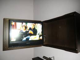 Wohnzimmerschrank Fernseher Versteckt Tv Möbel Versteckter Fernseher Edelos Com U003d Inspiration Design