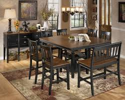 High Dining Room Tables Owingsville Square Counter Height Extendable Dining Room Set From