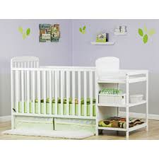 White Crib And Changing Table Nursery Decors Furnitures Walmart Baby Crib And Changing Table