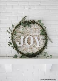 Christmas Wreath Decorations Images by Giant Diy Christmas Wreath Modern Holiday Decor Hula Hoop And Hula