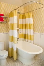 Claw Foot Tub Shower Curtains Clawfoot Tub Shower Curtain Rod Bathroom Transitional With Bath