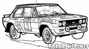 Coloring Page Racing Car Of The 80s 80s Coloring Pages