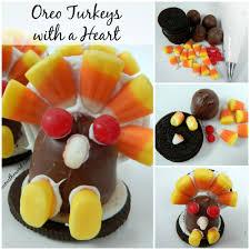 oreo thanksgiving turkeys oreo turkeys with a heart numstheword
