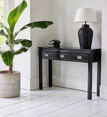 Black Console Table Furniture Stcocanton Black Gloss Console Tables Sofa Table Narrow