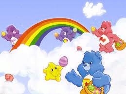La representación errónea del arco iris en los dibujos animados.