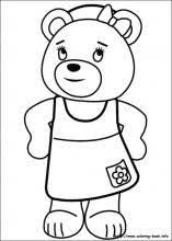 noddy coloring pages coloring book