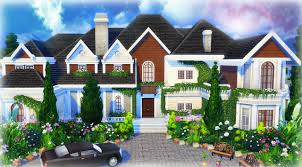the sims 4 house building beryl u0027s base game mansion youtube