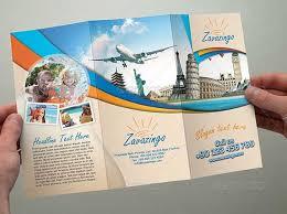 travel and tourism brochure templates free tourist brochure template csoforum info