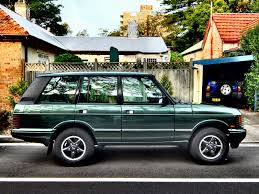 old range rover aussie old parked cars 1994 range rover vogue sse