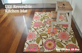 Diy Kitchen Rug Diy Kitchen Mat Beatnik