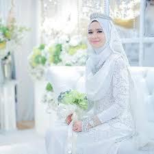 tutorial hijab syar i untuk pengantin kebaya pengantin muslim 2 tutorial hijab pinterest kebaya