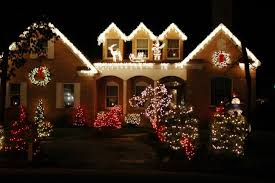 Outdoor Windows Decorating Christmas Christmas Light Decorating Ideas For Outside