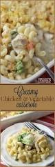 Quick Easy Comfort Food Recipes Creamy Chicken And Vegetable Casserole Renee U0027s Kitchen