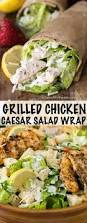for an easy protein packed lunch pack a grilled chicken caesar